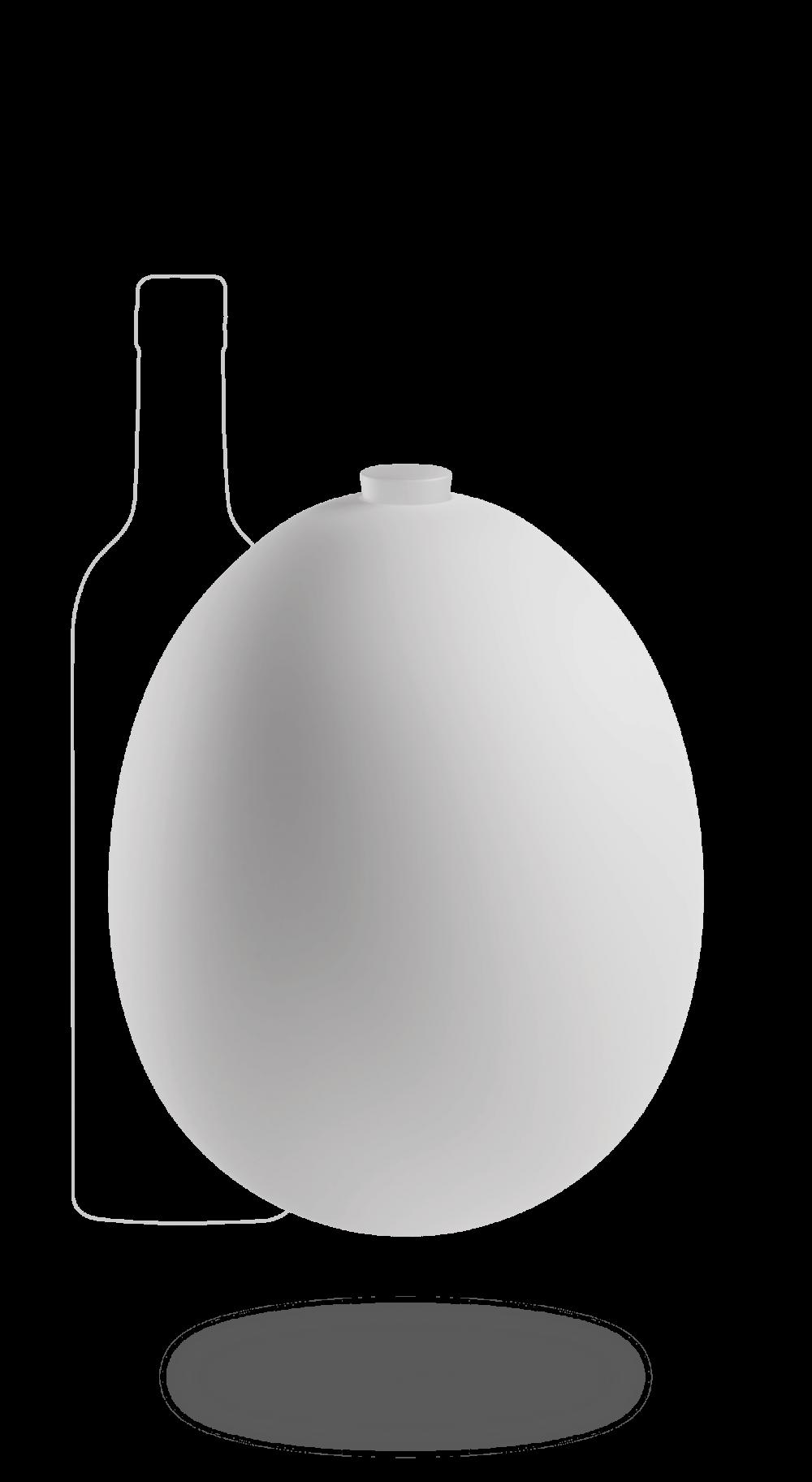 Petit œuf en porcelaine 3 litres